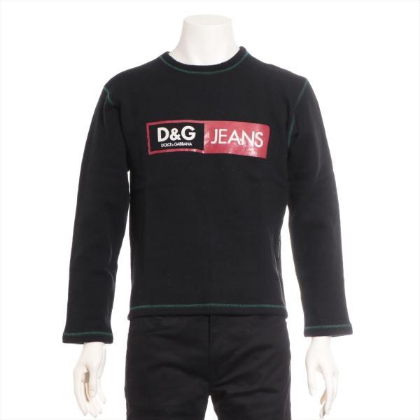 D&G ニット セーター XS メンズ ブラック ドルチェ&ガッバーナ|usus