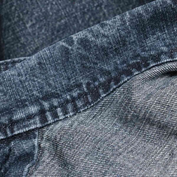 アーペーセー デニム ジャケット サイズ1 メンズ ブルー usus 05