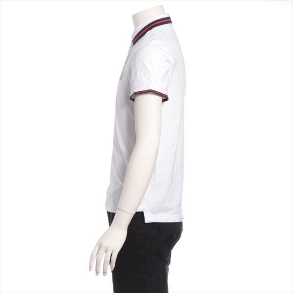 モンクレール コットン ポロシャツ S メンズ ホワイト|usus|02