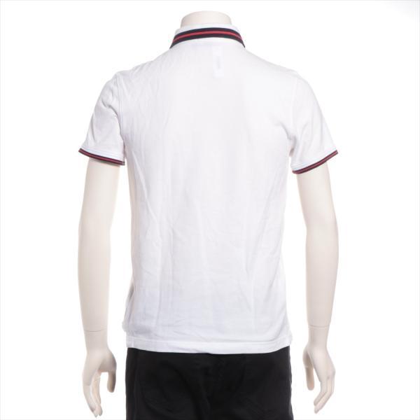 モンクレール コットン ポロシャツ S メンズ ホワイト|usus|03