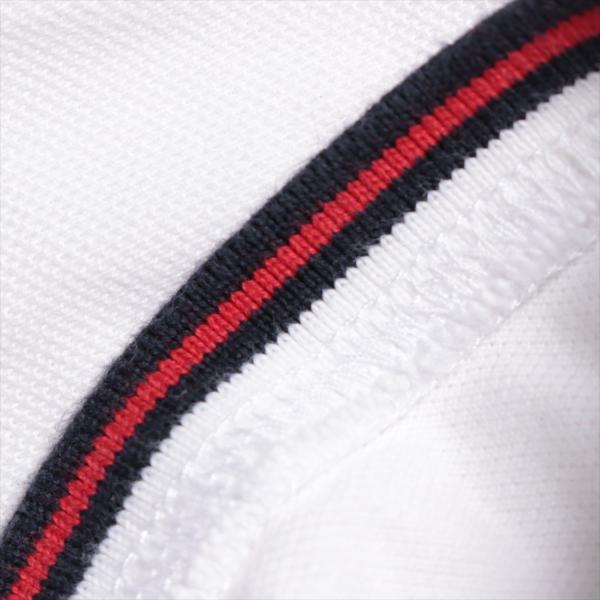 モンクレール コットン ポロシャツ S メンズ ホワイト|usus|05