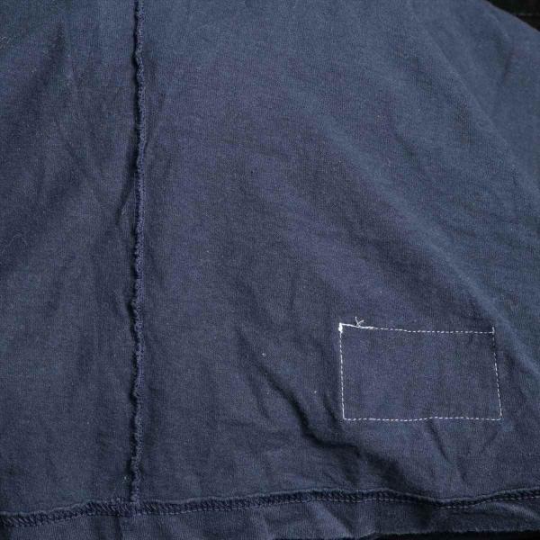 チャンピオンxシュプリーム コットン Tシャツ XL メンズ ネイビー 17AW  L/S Tee usus 04