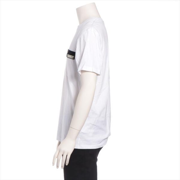 モンクレール コットン Tシャツ S メンズ ホワイト フラグメント|usus|02