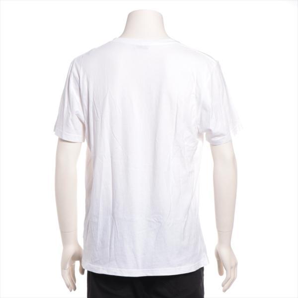 モンクレール コットン Tシャツ S メンズ ホワイト フラグメント|usus|03