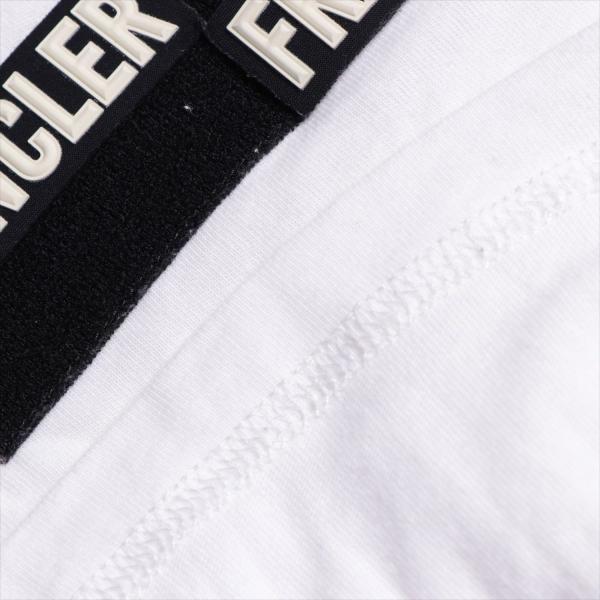 モンクレール コットン Tシャツ S メンズ ホワイト フラグメント|usus|04