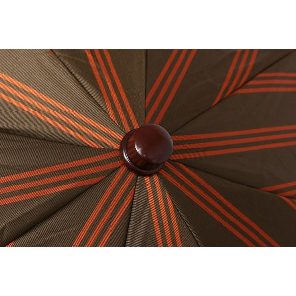 Maglia Francesco マリアフランチェスコ 折畳傘 メンズ ハンドメイド ブラウン 茶 並行輸入品