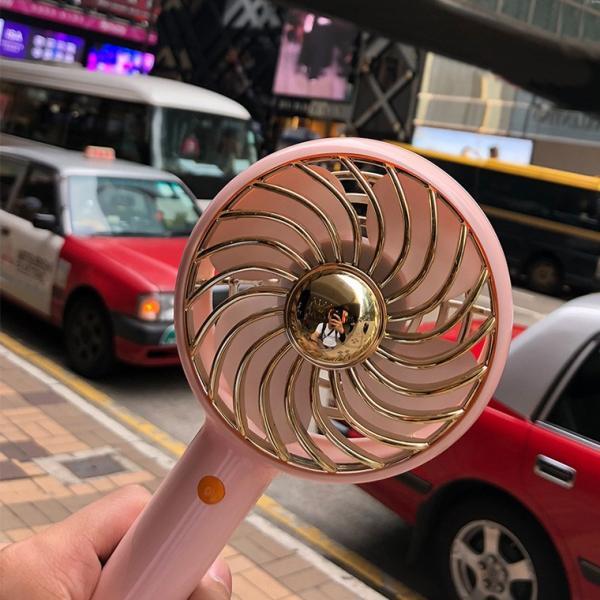 ハンディファン 手持ち扇風機 レトロ扇風機 全3色 USB 充電式 大容量 2600mAh 風量調整 3段階 自立スタンド 長時間使用 扇風機 携帯|utsunomiyahonpo|05