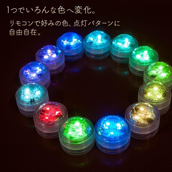 LEDキャンドル 防水 リモコン付き 3個のキャンドル+リモコンセット utsunomiyahonpo 02