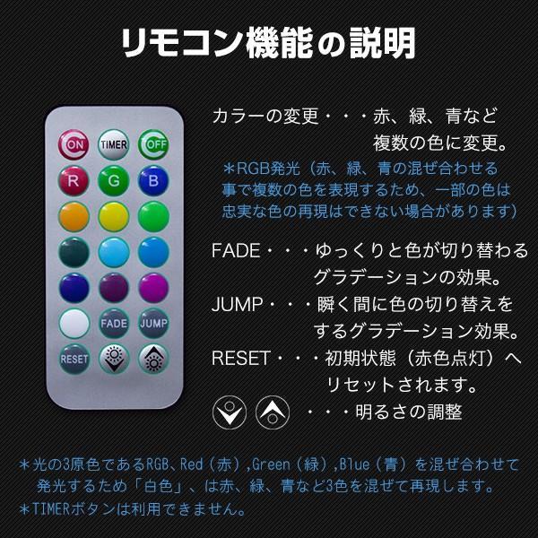 LEDキャンドル 防水 リモコン付き 3個のキャンドル+リモコンセット utsunomiyahonpo 04