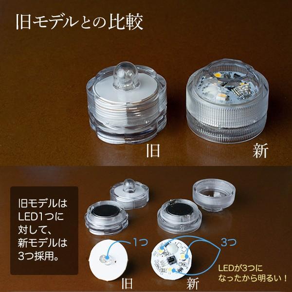LEDキャンドル 防水 リモコン付き 3個のキャンドル+リモコンセット utsunomiyahonpo 05
