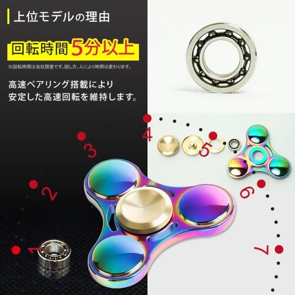 ハンドスピナー Hand Spinner フィンガースピナー 合金 チタン製 スピンギア utsunomiyahonpo 03