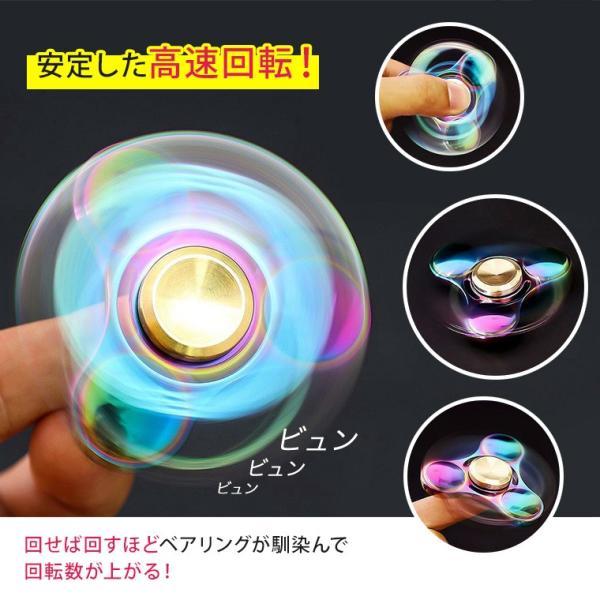 ハンドスピナー Hand Spinner フィンガースピナー 合金 チタン製 スピンギア utsunomiyahonpo 04