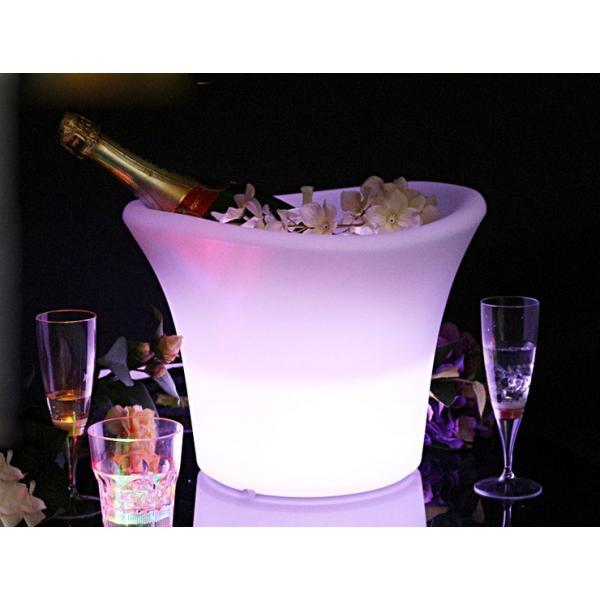 光る ワインクーラー ラウンド型 充電式 SP7 ボトル シャンパン バー イベント 演出 クラブ|utsunomiyahonpo|05