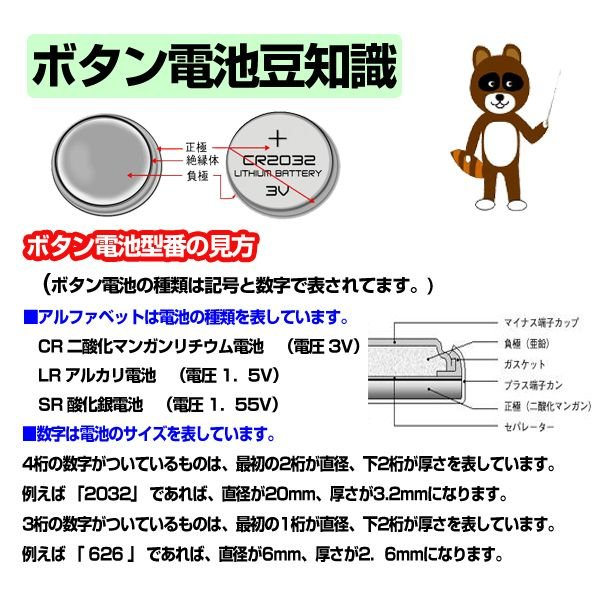 LR44 ボタン電池 10個セット アルカリ電池 1.5V AG13 357A CX44 互換 ボタン電池 コイン電池 時計 体温計 計算機|utsunomiyahonpo|04