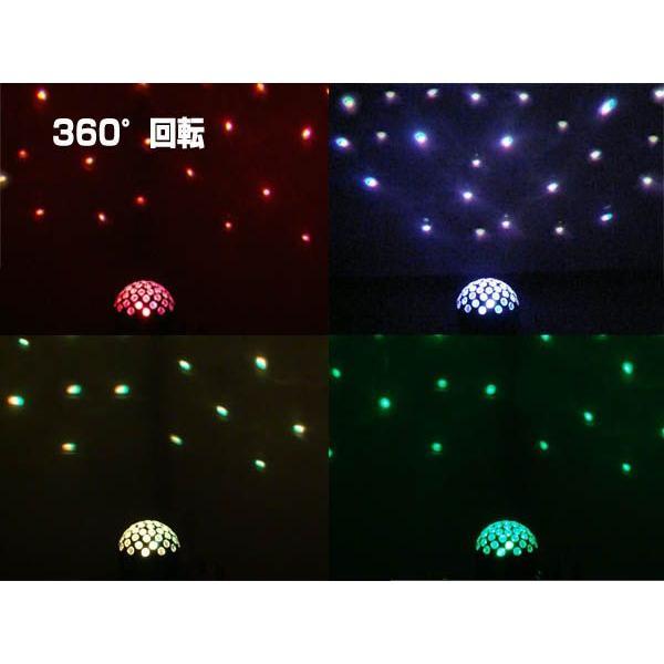 ミラーボール LEDステージライト 舞台照明 LS-60 DMX対応|utsunomiyahonpo|03