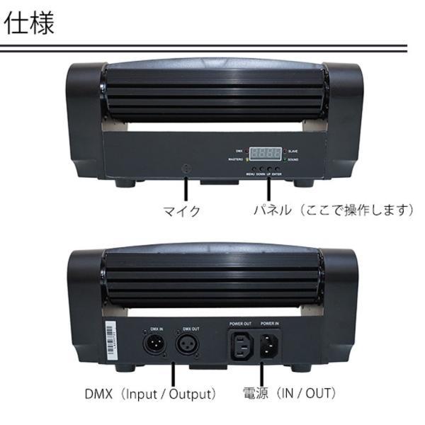 ムービングヘッド ステージライト 舞台照明 LED LS-LM30|utsunomiyahonpo|03