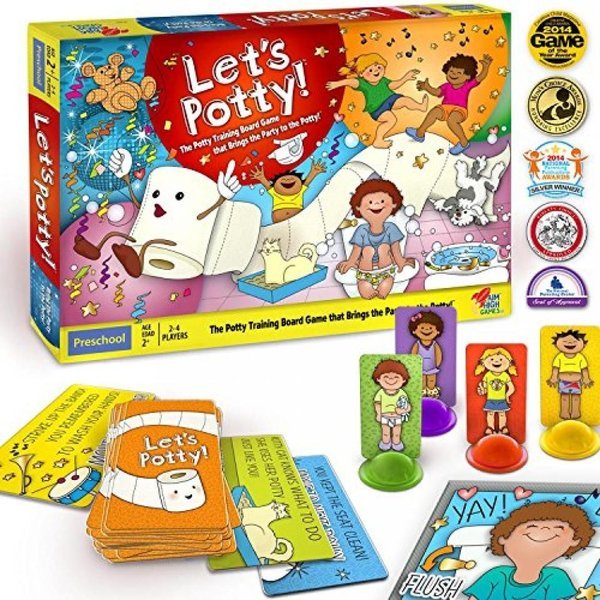 Let's Potty! Potty Training Board Game! No More Diapers, Toilet Train Toddlers Early! 輸入品|uujiteki