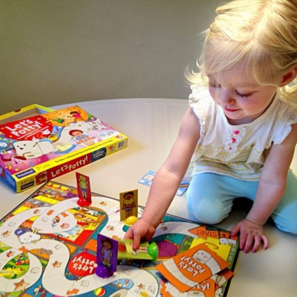 Let's Potty! Potty Training Board Game! No More Diapers, Toilet Train Toddlers Early! 輸入品|uujiteki|03