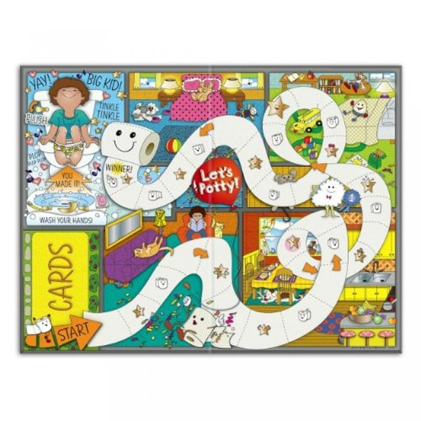 Let's Potty! Potty Training Board Game! No More Diapers, Toilet Train Toddlers Early! 輸入品|uujiteki|04