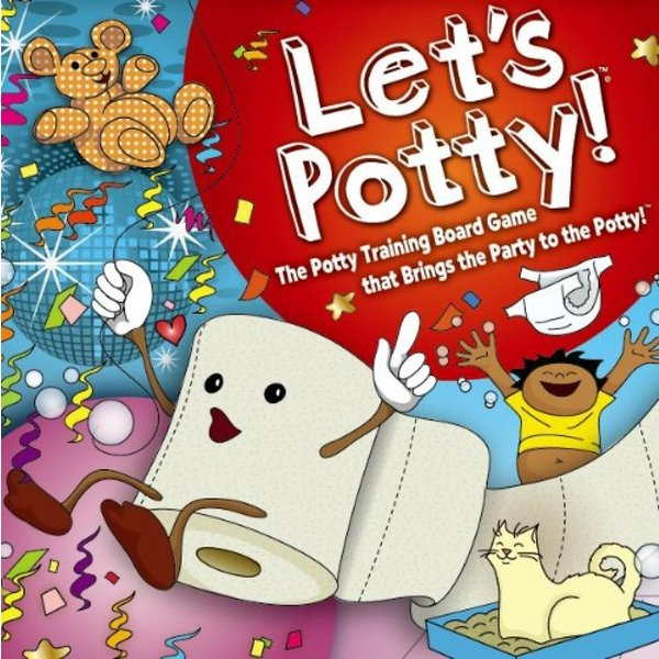 Let's Potty! Potty Training Board Game! No More Diapers, Toilet Train Toddlers Early! 輸入品|uujiteki|05