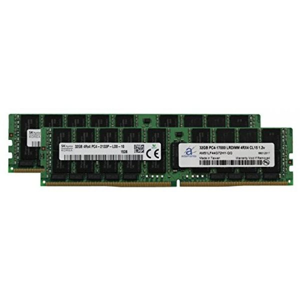 PARTS-QUICK Brand 32GB Memory for Supermicro SuperServer F619P2-RC1 DDR4 PC4 2400MHz ECC Registered DIMM