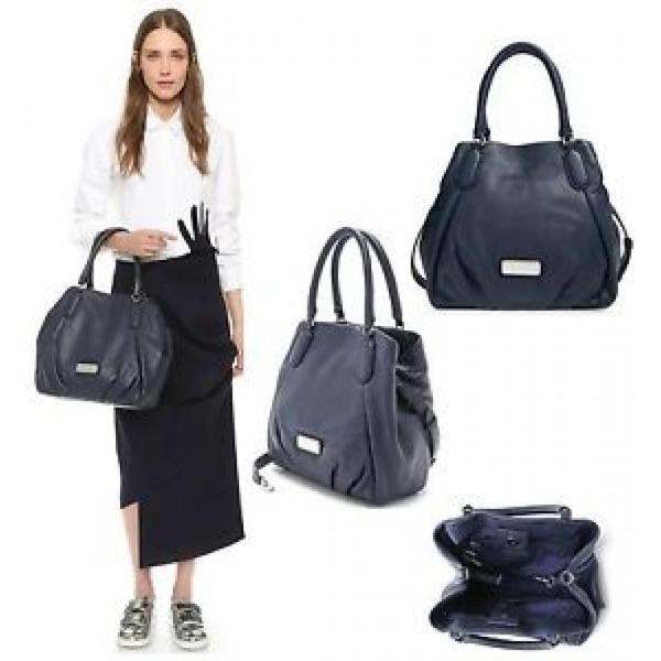 マーク・ジェイコブズ バッグ $448 Marc By Marc Jacobs New Q Fran Leather Satchel Shoulder Bag Handbag Shopper