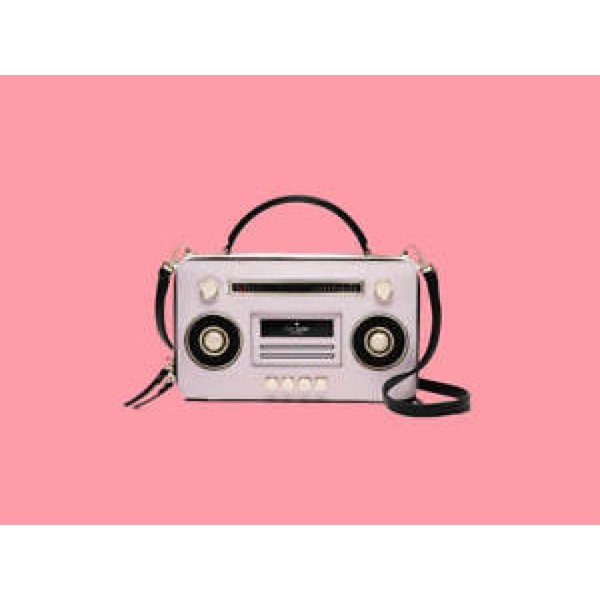 ケイトスペード バッグ 輸入品 Kate Spade Boom Box Bag NWT Remember BoomBoxes And Mix Tapes! Jazz Things Up!|uujiteki