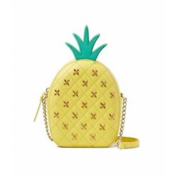 ケイトスペード バッグ 輸入品 KATE SPADE How Refreshing Pineapple Crossbody Bag Purse WKRU4368