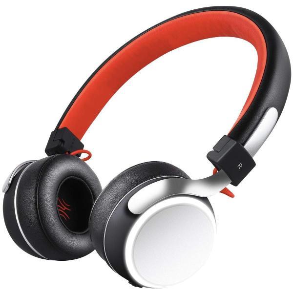 Bluetooth ヘッドホン OneAudioワイヤレス ヘッドホン低音強化 40mm径大型ドライバー 高音質 超軽量 コンパクトLEDラ|uukaifujii|02