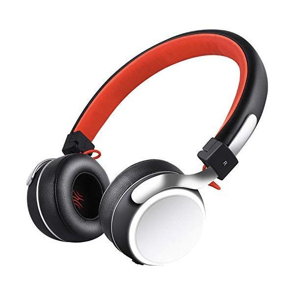 Bluetooth ヘッドホン OneAudioワイヤレス ヘッドホン低音強化 40mm径大型ドライバー 高音質 超軽量 コンパクトLEDラ|uukaifujii|06