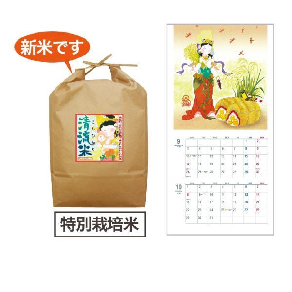 清水心澄2018チャリティカレンダー&清流米5kgセット|uukankan