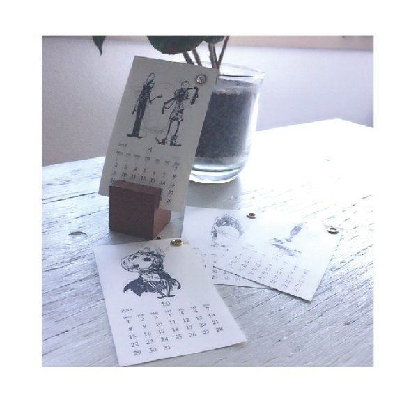 「Sky  Butterfly- to DEBRA -」umi.doodle/プチカレンダー|uukankan|02