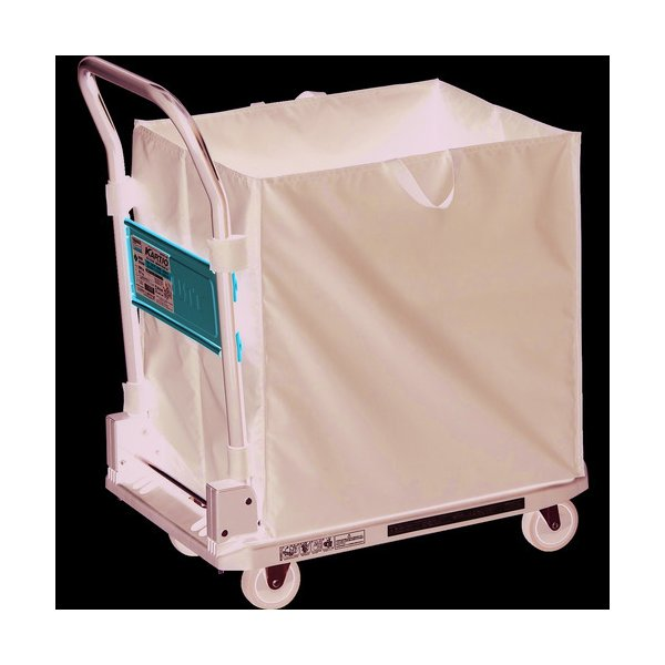 TRUSCO 樹脂台車 カルティオ CHBAハンドトラックボックス付 ブラック
