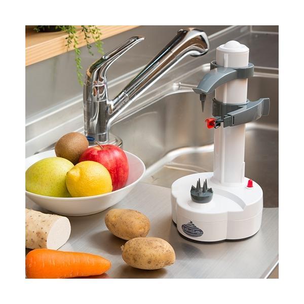 イージーピーラー - 皮むき器 料理 調理 野菜 果物 自動 キッチン 台所