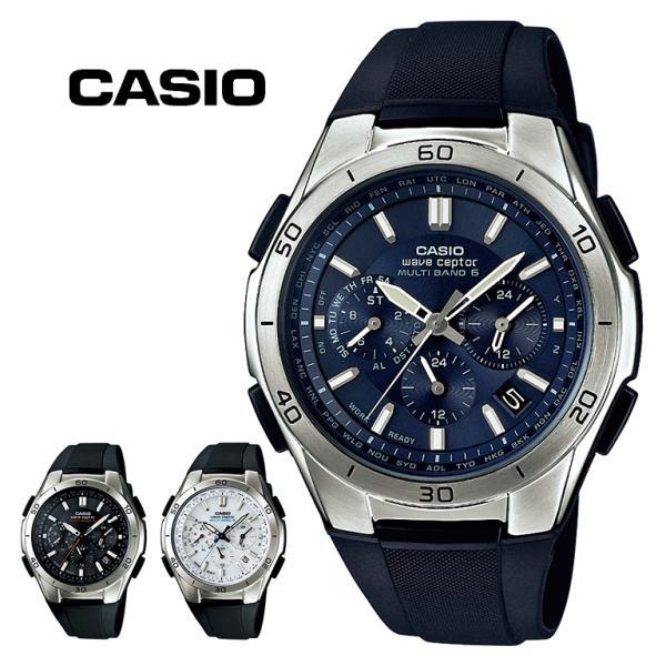 電波ソーラー腕時計/カシオ・スポーティクロノグラフソーラー電波腕時計WVQ-M4101AJF7AJF2AJF