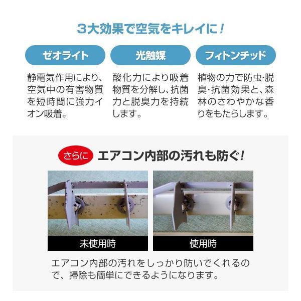 フィトンα・エアコンクリーン(2枚組)