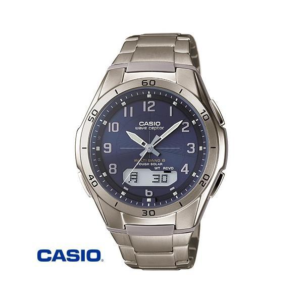 カシオ・チタン電波ソーラー腕時計通販 モデルCASIOWVA-M640TD-2AJF