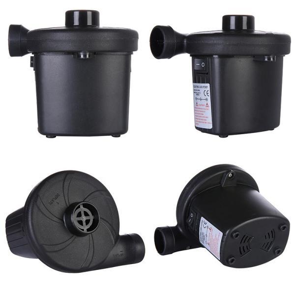 空気入れ 電動ポンプ エアーポンプ エアポンプ ビニールプール コンセント式 AC電源 空気抜きノズル付き エアーベッド 遊びプール用|uuu-shop|02