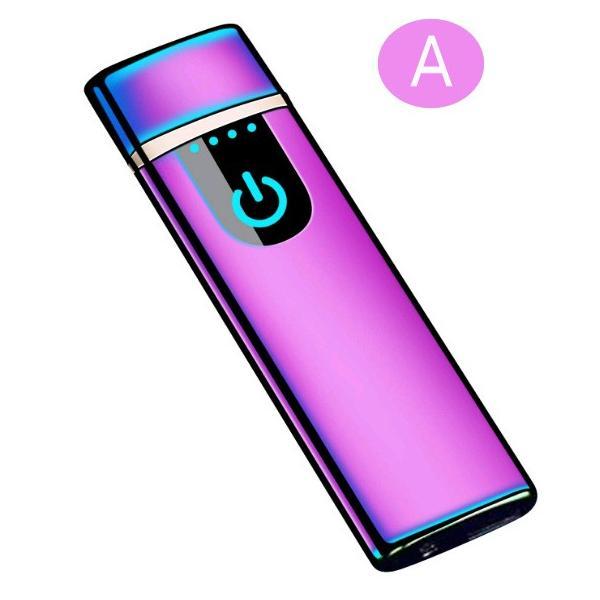 電子ライター USB充電式 プラズマ 電気 usb ライター 小型 充電式 ガス・オイル不要 防風 軽量 薄型 プレゼント|uuu-shop|15