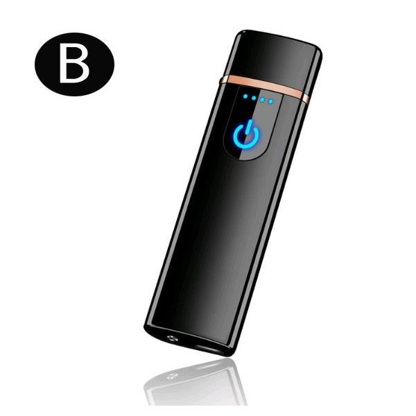 電子ライター USB充電式 プラズマ 電気 usb ライター 小型 充電式 ガス・オイル不要 防風 軽量 薄型 プレゼント|uuu-shop|16