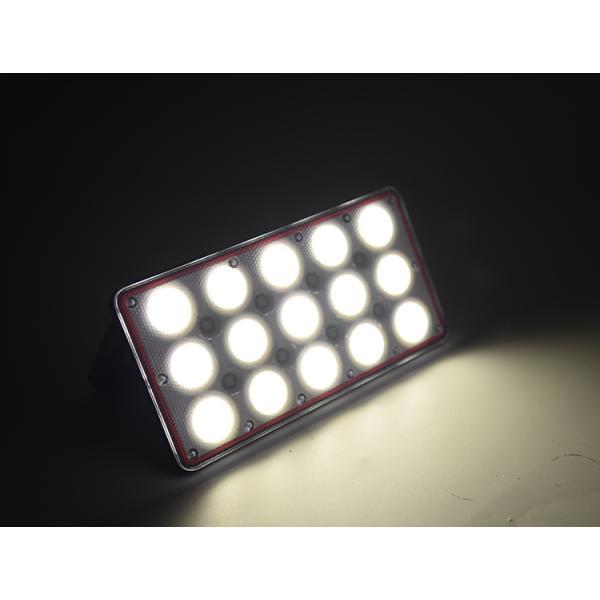 充電式 ipad投光器 LED ポータブル 角度調整 広角度照明照射 モバイルバッテリー機能 スマホ充電 屋外用 ライト 釣り 懐中電灯 フィッシング ライト 集魚灯|uuu-shop|10