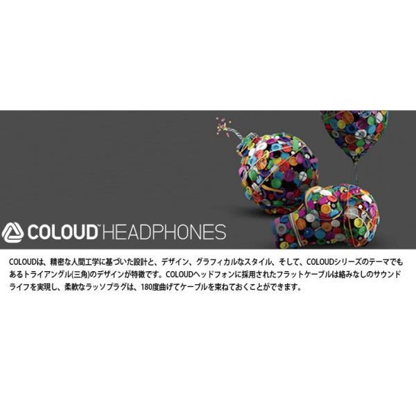 国内正規品 COLOUD HEADPHONES BOOM ヘッドフォン iphone いい音 イヤホン インナーイヤホン かわいい デザイン おしゃれ ヘッドホン カラフル 高音質