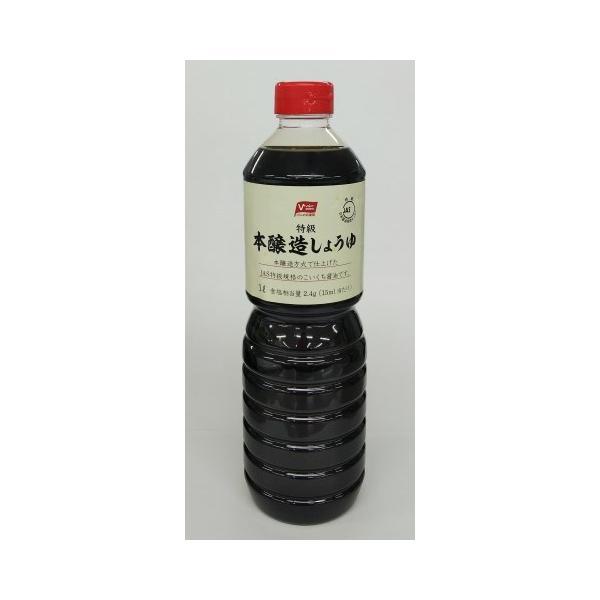 バローセレクト 本醸造しょうゆ 1L×15個セット /醤油 しょうゆ (毎)