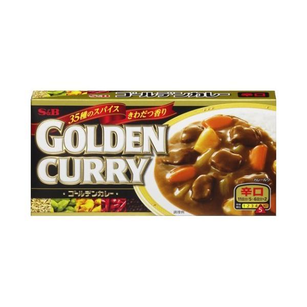 エスビー ゴールデンカレー198g×10個セット/ エスビー ゴールデンカレー カレールー カレールウ