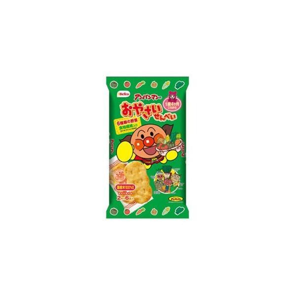 アンパンマンのおやさいせんべい 12枚×12個セット /ベビー せんべい (毎)