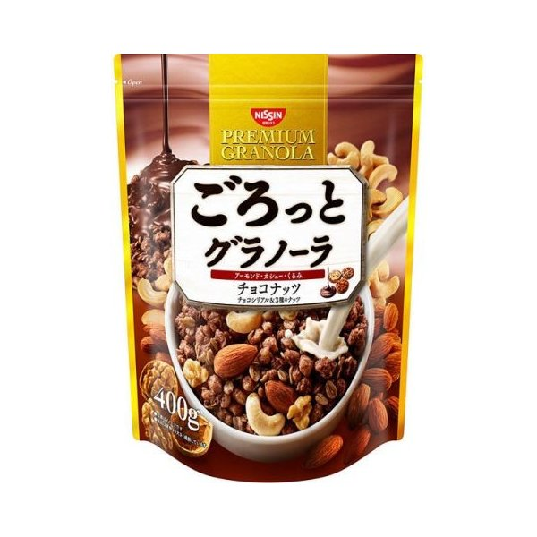 ごろっとグラノーラ チョコナッツ400g×6個セット /ごろっとグラノーラ シリアル (毎)