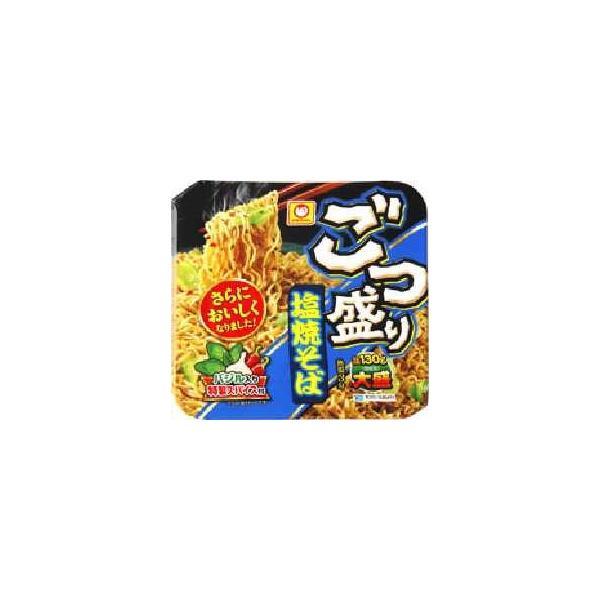 マルちゃん ごつ盛り 塩焼そば156g×12個セット/ マルちゃん ごつ盛り カップラーメン (毎)