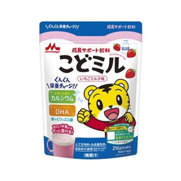 こどミル いちご&ミルク味 18g×12本/こどミル