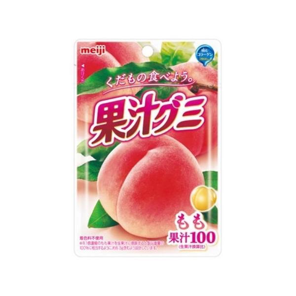 明治 果汁グミ もも 51g×10個セット /果汁グミ