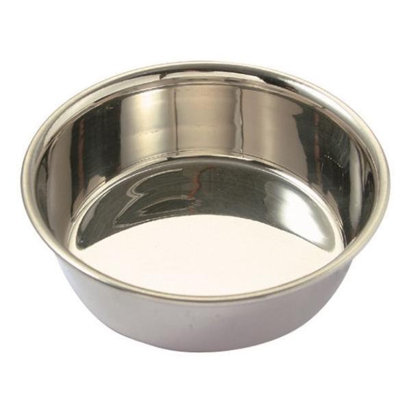 ステンレス食器皿型11cm/ 犬餌入れ